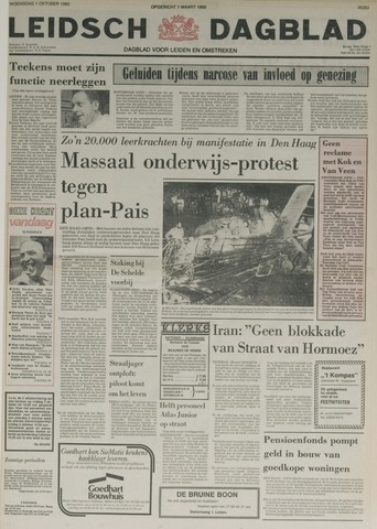 Leidsch Dagblad 1980-10-01