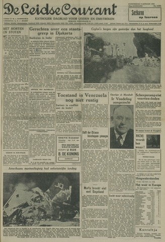 Leidse Courant 1958-01-09