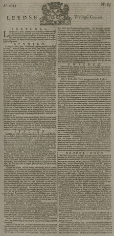 Leydse Courant 1744-05-29