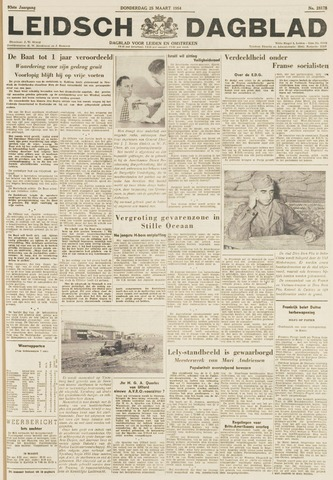 Leidsch Dagblad 1954-03-25