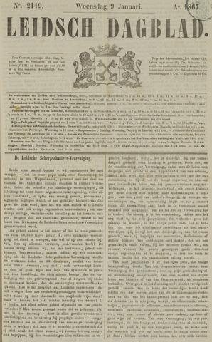 Leidsch Dagblad 1867-01-09