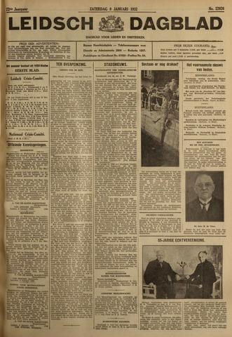 Leidsch Dagblad 1932-01-09