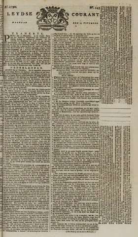 Leydse Courant 1790-11-29