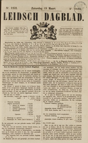 Leidsch Dagblad 1864-03-19