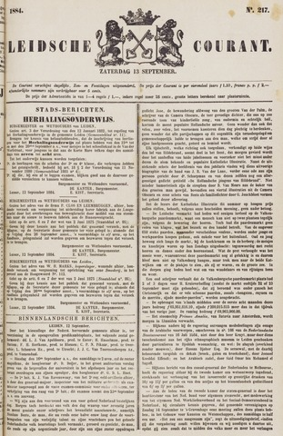 Leydse Courant 1884-09-13