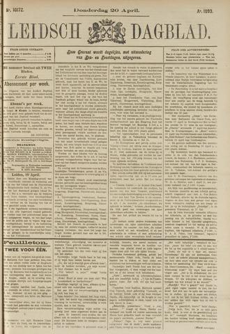 Leidsch Dagblad 1893-04-20