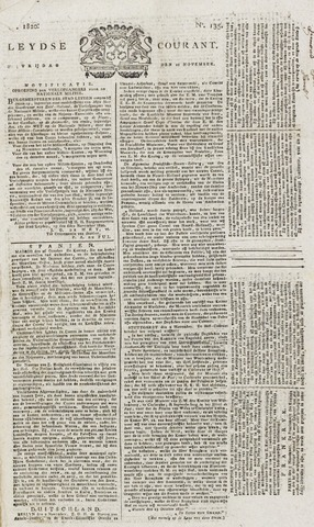 Leydse Courant 1820-11-10