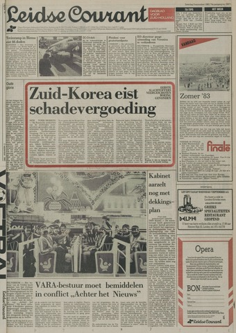 Leidse Courant 1983-09-03