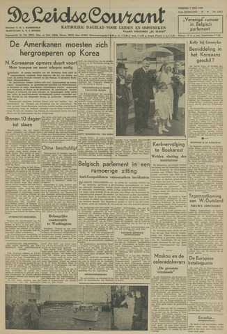 Leidse Courant 1950-07-07