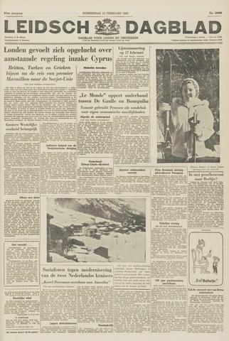 Leidsch Dagblad 1959-02-12