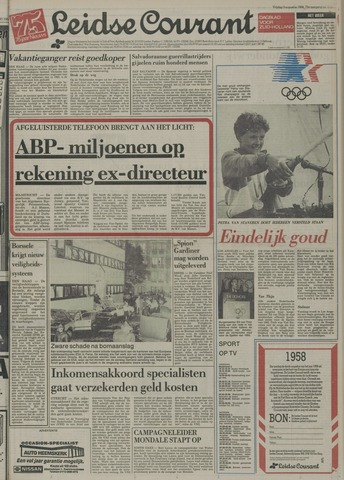 Leidse Courant 1984-08-03