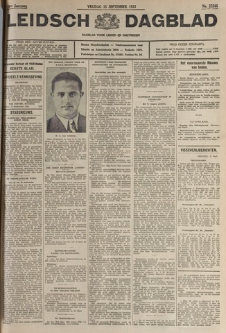 Leidsch Dagblad 1933-09-15