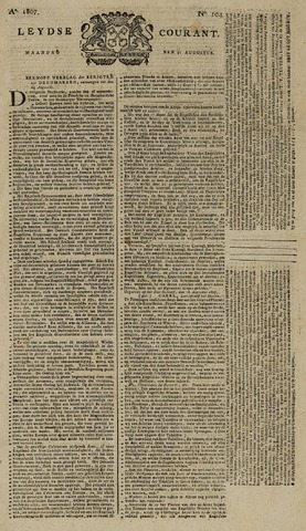 Leydse Courant 1807-08-31