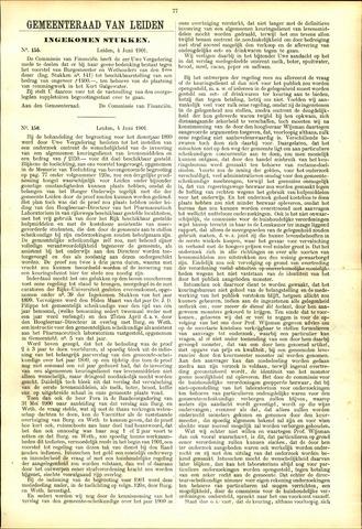 Handelingen van de Raad 1901-06-04