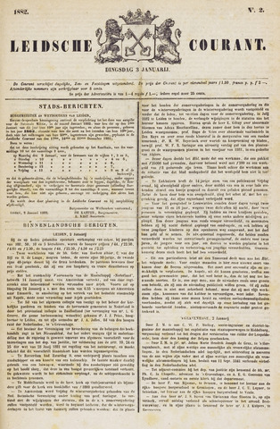 Leydse Courant 1882-01-03