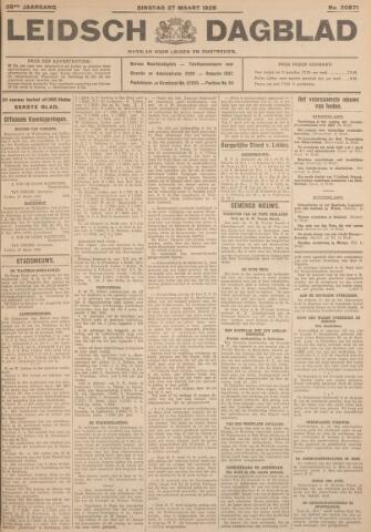 Leidsch Dagblad 1928-03-27