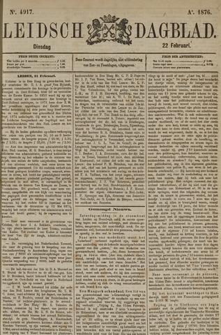Leidsch Dagblad 1876-02-22
