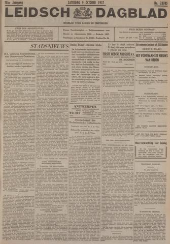 Leidsch Dagblad 1937-10-09