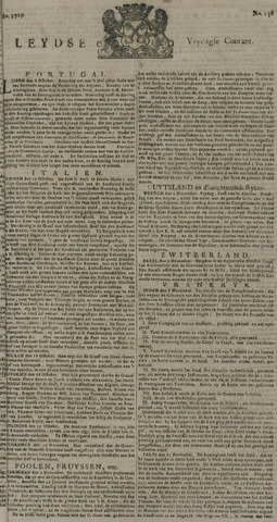 Leydse Courant 1729-11-18