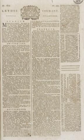 Leydse Courant 1815-09-13