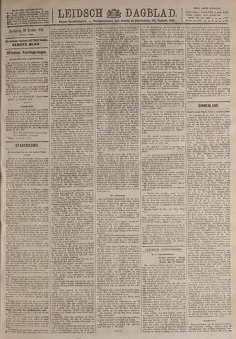Leidsch Dagblad 1919-10-30