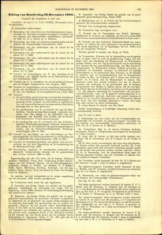 Handelingen van de Raad 1909-12-23