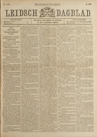 Leidsch Dagblad 1899-11-02