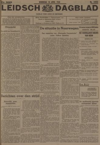 Leidsch Dagblad 1940-04-10