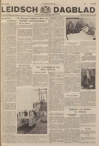 Leidsch Dagblad 1951-07-27