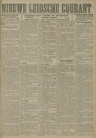 Nieuwe Leidsche Courant 1923-06-02