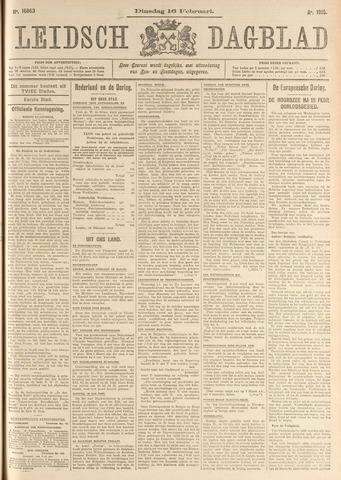 Leidsch Dagblad 1915-02-16