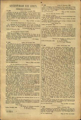 Handelingen van de Raad 1889-12-03