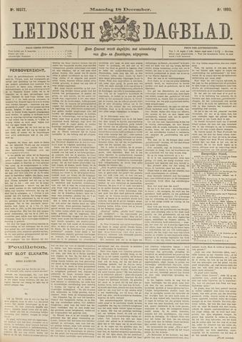 Leidsch Dagblad 1893-12-18
