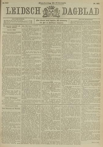 Leidsch Dagblad 1907-02-21