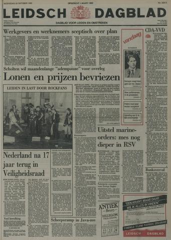 Leidsch Dagblad 1982-10-20
