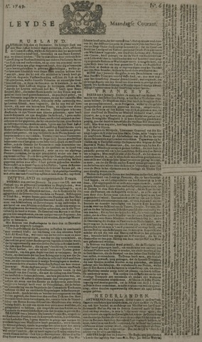 Leydse Courant 1749-01-13