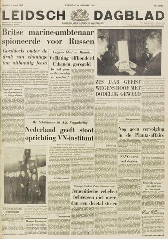 Leidsch Dagblad 1962-10-10