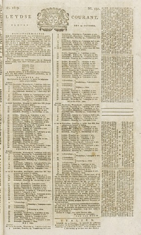 Leydse Courant 1819-10-29