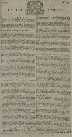 Leydse Courant 1734-11-19
