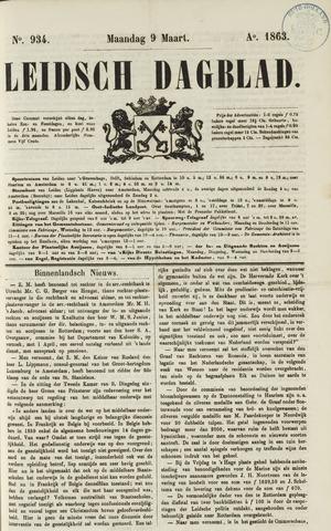 Leidsch Dagblad 1863-03-09