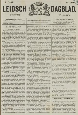 Leidsch Dagblad 1868-01-16