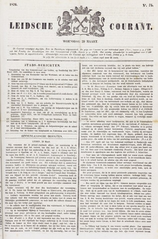 Leydse Courant 1876-03-29