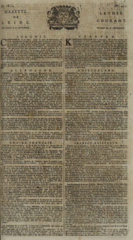 Leydse Courant 1811-09-27
