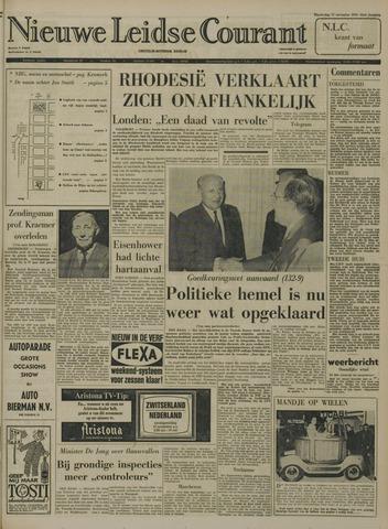 Nieuwe Leidsche Courant 1965-11-11