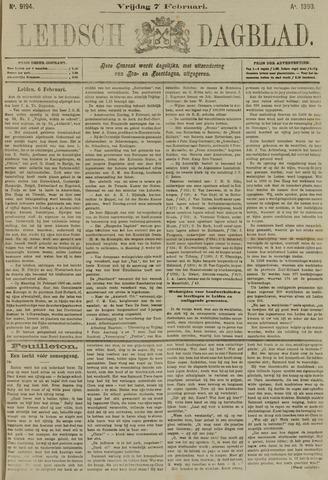 Leidsch Dagblad 1890-02-07