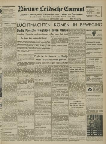 Nieuwe Leidsche Courant 1939-09-06