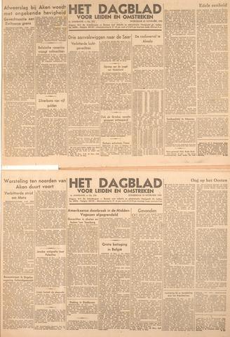 Dagblad voor Leiden en Omstreken 1944-11-22