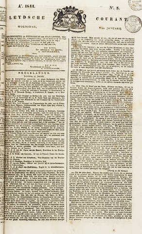 Leydse Courant 1844-01-10