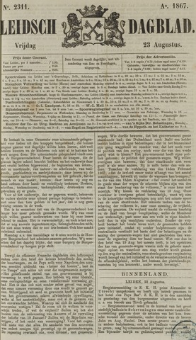 Leidsch Dagblad 1867-08-23
