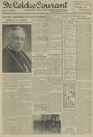Leidse Courant 1949-08-13